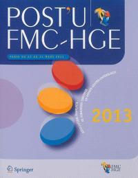 Post-U FMC-HGE : Paris du 22 au 24 mars 2013