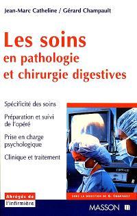 Les soins en pathologie et chirurgie digestives