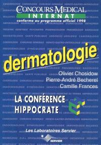 Dermatologie : le concours médical internat conforme au programme officiel 1998