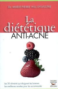 La diététique anti-acné