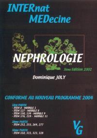 Néphrologie : conforme au nouveau programme 2004