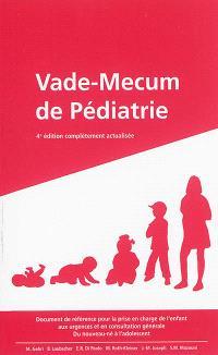 Vade-mecum de pédiatrie
