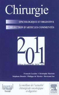 Chirurgie oncologique et digestive 2011 : sélection d'articles commentés