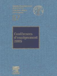 Conférences d'enseignement 2005