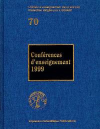 Conférences d'enseignement 1999