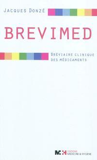 Brevimed : bréviaire clinique des médicaments