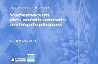 Vademecum des médicaments antiépileptiques