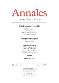 Annales. n° 2 (2007), Médicaments et société : enjeux contemporains