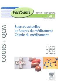 Sources actuelles et futures du médicament, chimie du médicament