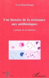 Une histoire de la résistance aux antibiotiques : à propos de six bactéries
