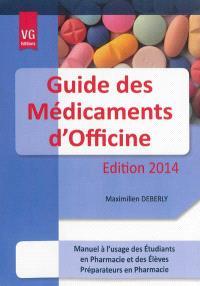 Guide des médicaments d'officine