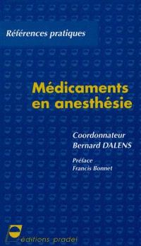 Médicaments en anesthésie