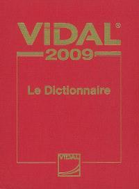 Vidal 2009 : le dictionnaire