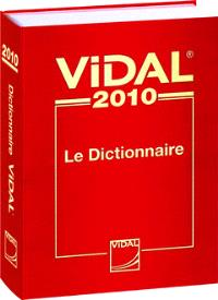 Vidal 2010 : le dictionnaire
