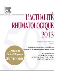 L'actualité rhumatologique 2013