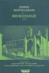 Journée montpellieraine de rhumatologie 2004