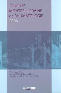 Journée montpelliéraine de rhumatologie 2006