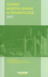 Journée montpelliéraine de rhumatologie 2007
