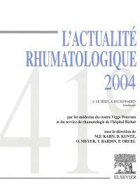 L'actualité rhumatologique 2004
