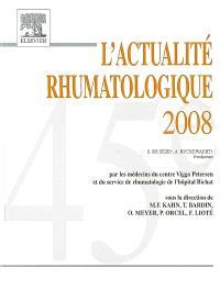 L'actualité rhumatologique 2008