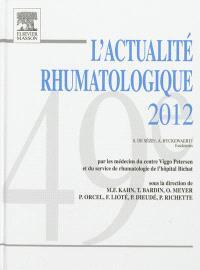 L'actualité rhumatologique 2012
