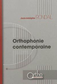 Orthophonie contemporaine