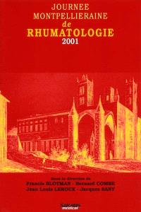 Journée montpelliéraine de rhumatologie 2001