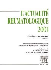L'actualité rhumatologique 2001