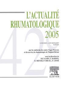 L'actualité rhumatologique 2005