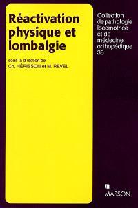 Réactivation physique et lombalgie