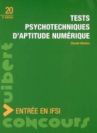 Tests psychotechniques d'aptitude numérique