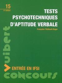 Tests psychotechniques d'aptitude verbale