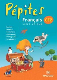 Français, livre unique, CE2 : programmes 2008