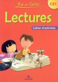 Rue des contes, lectures CE1 : cahier d'activités