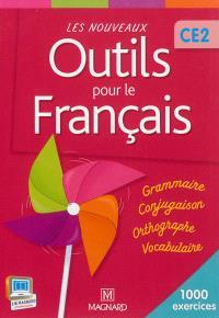 Les nouveaux outils pour le français CE2 : 1.000 exercices : livre de l'élève