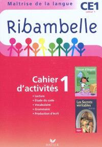 Ribambelle CE1 : maîtrise de la langue