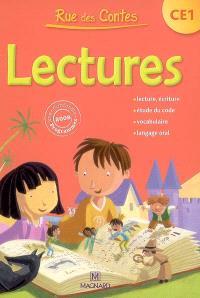 Rue des contes, lectures CE1 : conforme aux programmes 2008