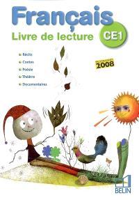 Français CE1 : livre de lecture