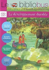 Le bibliobus développement durable CE2, cycle 3