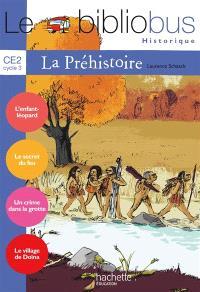 Le bibliobus historique CE2 cycle 3, la préhistoire