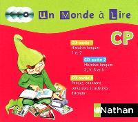 Un monde à lire CP : 3 CD audio