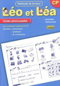 Léo et Léa, méthode de lecture, CP : fichier photocopiable