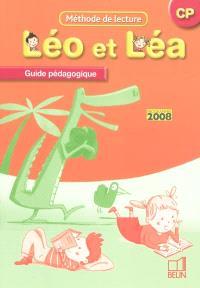 Léo et Léa, méthode de lecture, CP : guide pédagogique