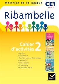 Ribambelle, maîtrise de la langue, CE1