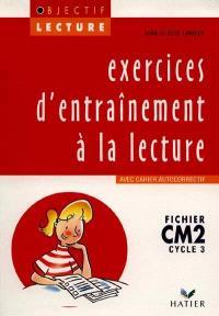 Exercices d'entraînement à la lecture, CM2