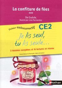 Je lis seul, tu lis seule CE2 : fichier autocorrectif