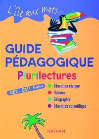 L'île aux mots, plurilectures, CE2-CM1 : livre du maître