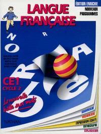 Langue française : cycle 2, CE1 : grammaire, vocabulaire, orthographe