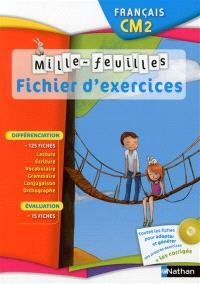Mille-feuilles, français CM2 : fichier d'exercices
