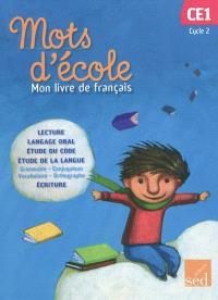 Mon livre de français cycle 2, CE1